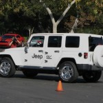 Jeep EV in motion
